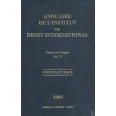 Annuaire de l'Institut de droit international - Volume 73, Session de Naples