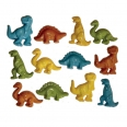 Lot boutons - dinosaures