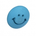 Bouton smiley - turquoise - 14mm