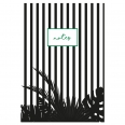 Cahier A5 Jungle Stripes - Collection Tropico