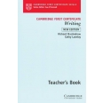 CAMBRIDGE FIRST CERTIFICATE WRITING TEACHER'S BOOK