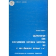 Catalogue des documents royaux hittites du 2e millénaire avant J.C.