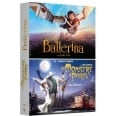 COFFRET ANIMATION 2 FILMS : BALLERINA UN MONSTRE A PARIS