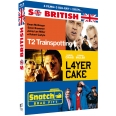 COFFRET SO BRITISH 3 FILMS : TRAINSPOTTING 2  LAYER CAKE  SNATCH