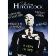 COLLECTION HITCHCOCK - 4 DVD