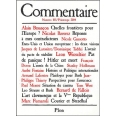 Commentaire N°105 / Printemps 2004