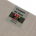 Coupon tissu lin - 50x70 cm - beige - Cultura Collection