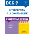 DCG 9 - Introduction à la comptabilité 2018/2019 - 9e éd.