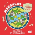 Dragons et chevaliers - Mandalas