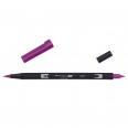 Feutre pinceau double pointe - ABT-665 - purple