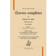 Oeuvres Complètes Tome II - Oeuvres complètes