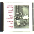 FIRST DUO CONCERT LONDON 1974