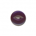 Bouton fish eye - violet  - 12mm