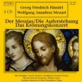 HAENDEL : LE MESSIE - LA RESURRECTION - MOZART : CONCERTO DU COURONNEMENT