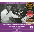 """INTEGRALE VOL 15 LOUIS ARMSTRONG """"THE KING OF THE ZULUS"""""""