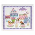 Kit broderie -  brunch cupcakes