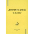 L'innovation lexicale