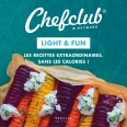 Coffret Chefclub - Sucré, Light & fun, Apéro