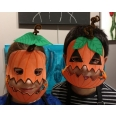 Masque d'Halloween parent-enfant