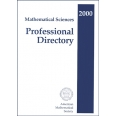Mathematical Sciences Professional Directory 2000