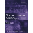 Meaning in Language - An Introduction to Semantics and Pragmatics