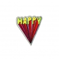 "Ecusson thermocollant - ""HAPPY"" - Vengo"
