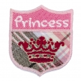 Motif thermocollant - princesse rose