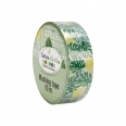 Masking tape 10mx1,5cm - feuilles - Cultura Collection - Green