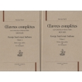 Oeuvres complètes, 1829-1831 - George Sand avant Indiana, 2 volumes