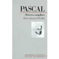OEUVRES COMPLETES DE PASCAL. Tome 4