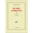 OEUVRES COMPLETES. Tome 12