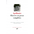 Oeuvres en prose complètes - Tome 1