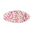 Perles comestibles - rose/blanc - 60g - FunCakes