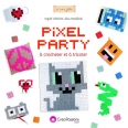 Pixel party à crocheter et à tricoter