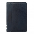 Agenda Lockwood cuir - Format pocket slim - Marine