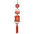 CHAT MANEKI NEKO ROUGE PROTECTION CERAMIQUE ROUGE 4,5 CM