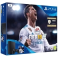 Console PlayStation 4 Slim 1TB FIFA 18 Bundle - with FIFA 18 Ultimate Team Icons and Rare Player Pack