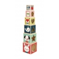 Pyramide 6 Cubes Baby Forest (Bois)