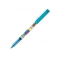 EDITION LIMITEE MIKA - Stylo-roller encre liquide - V5 - Pointe fine - turquoise