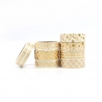 Masking tape - 8 rouleaux - 15mm x 5 m - or - Cultura Collection