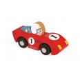 Story Racing Speed Voiture bois - couleurs assorties