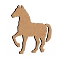 Support bois - cheval - 10 cm