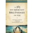 The 365 Most Important Bible Passages for You