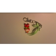 Pendentif personnage Fimo