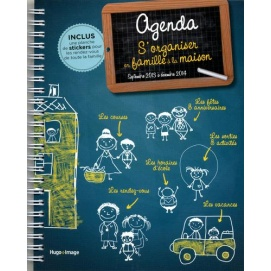 agenda s 39 organiser en famille la maison septembre 2013. Black Bedroom Furniture Sets. Home Design Ideas