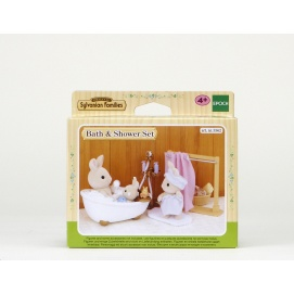 ensemble baignoire et douche sylvanian families imitations m tiers et activit s imitation. Black Bedroom Furniture Sets. Home Design Ideas