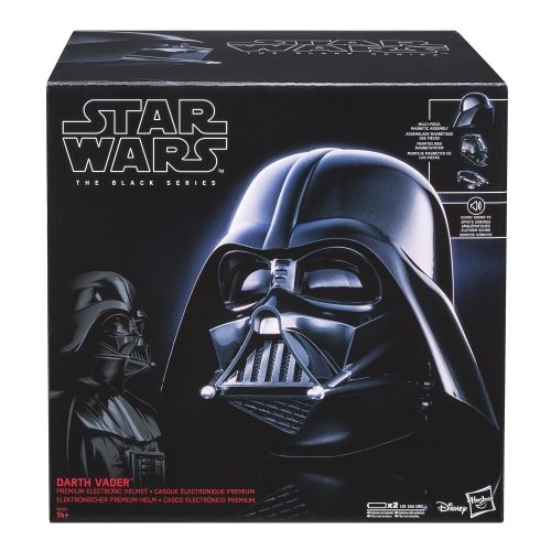 Star Wars The Black Series Casque Electronique Dark Vador Je