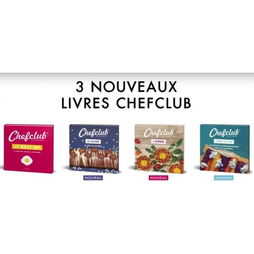 Coffret Chefclub Sucre Light Fun Apero Livres De