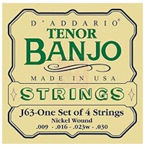 D\'Addario - J63 pour Banjo Tenor