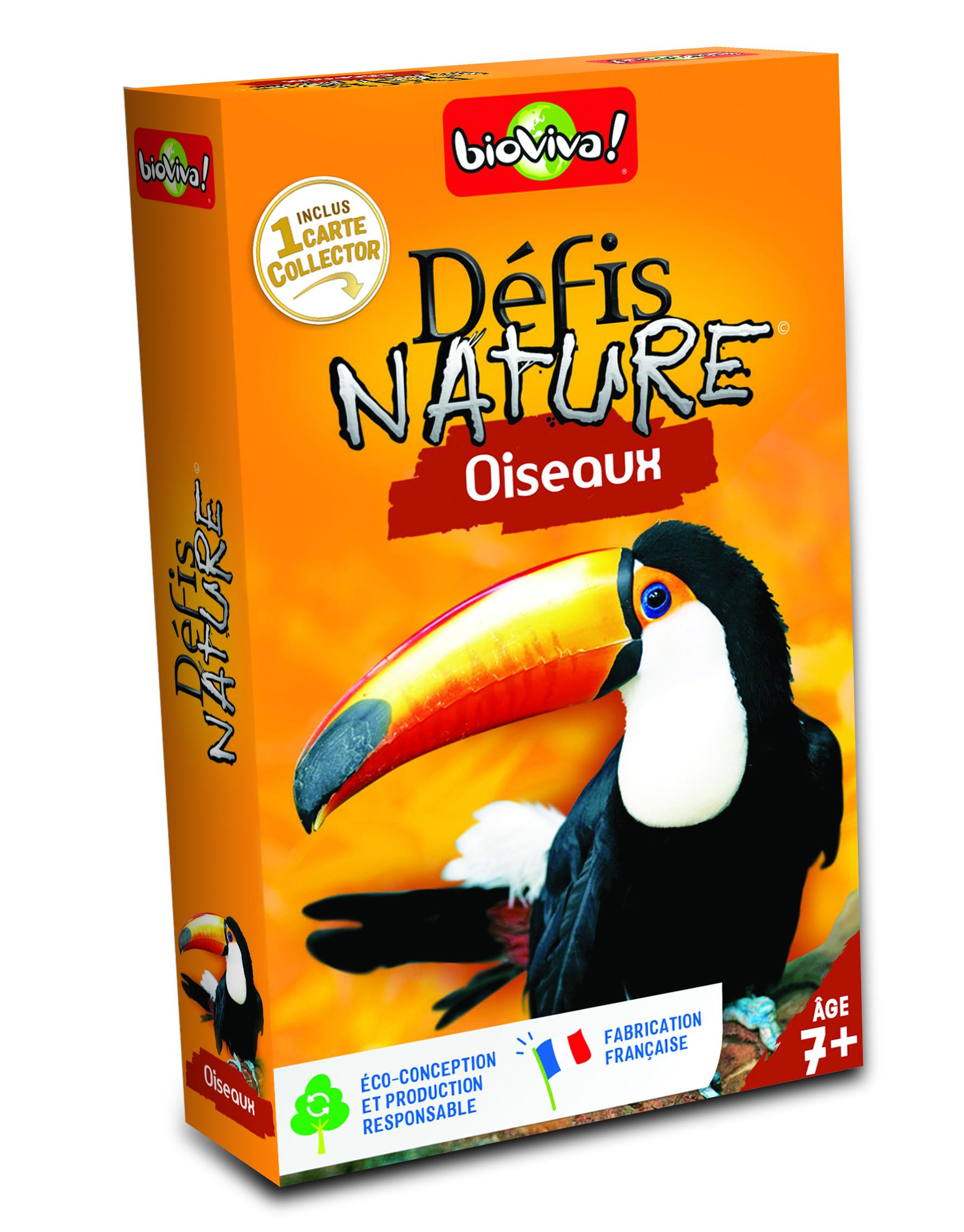 Défis Nature - Dans les airs avec les oiseaux
